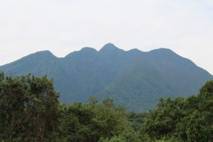 Sabyinyo-volcanoes