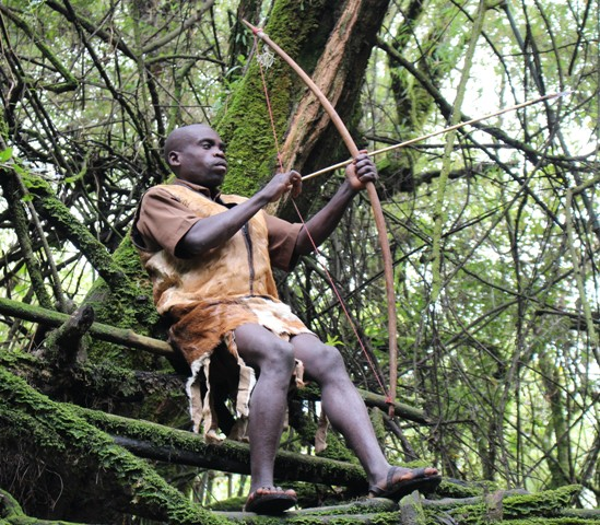 Batwa Trail in Mgahinga Gorilla national park