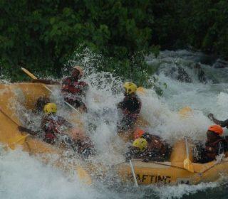 White water rafting Jinja Uganda