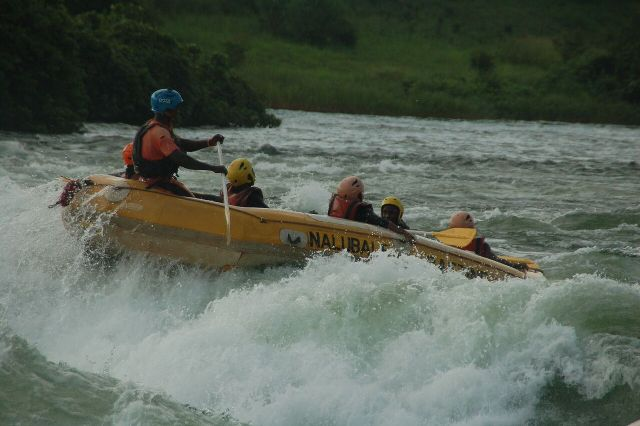 rafting the nile in jinja