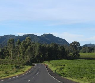 Road to Nyungwe Forest National Park