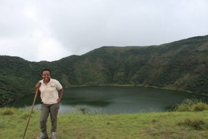 bisoke-crater-lake