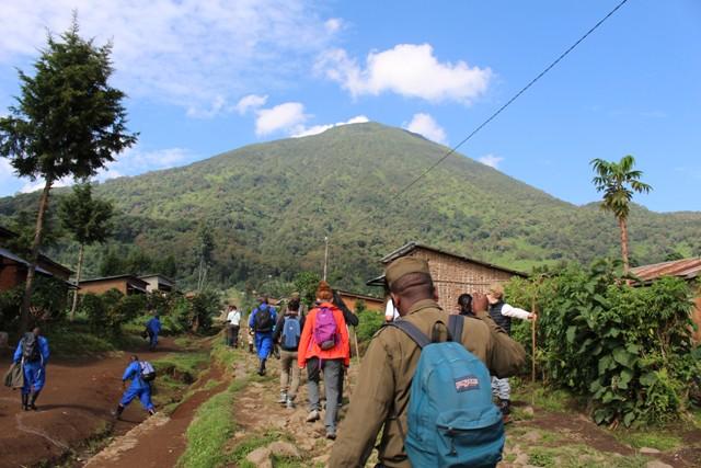 The Virunga Ranges of Uganda, Rwanda and Congo